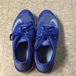 Nike Royal Blue Tennis Shoes